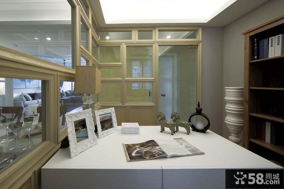 现代风格客厅液晶电视背景墙样板房设计效果图