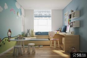 儿童房榻榻米床装修效果图大全2013图片