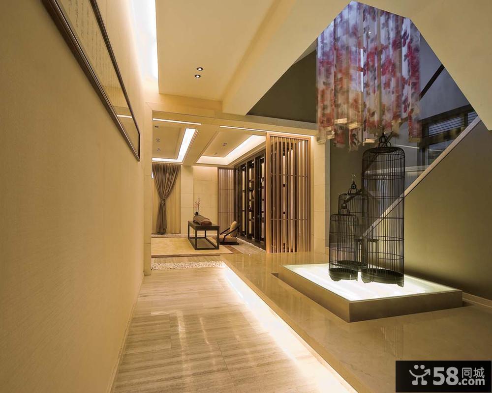 别墅楼梯过道装饰效果图片