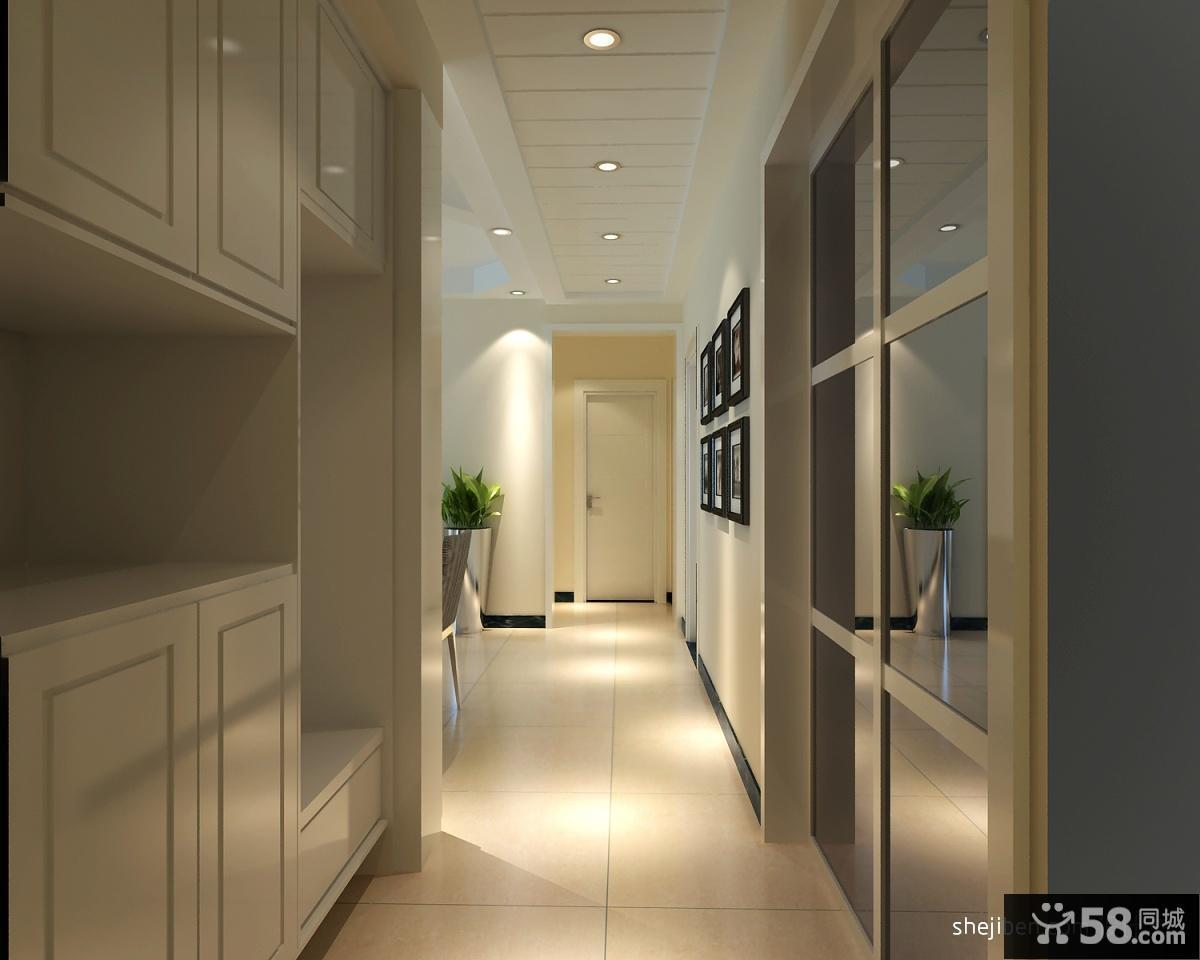 欧式客厅走道玄关装修效果图大全2012图片