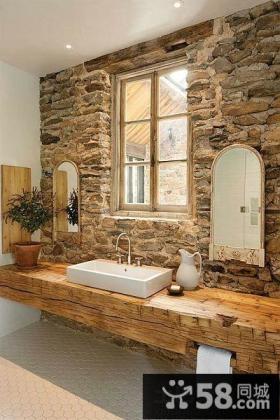 卫生间石材装修图