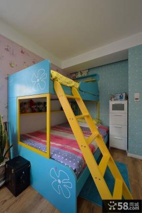 混搭色彩儿童房布置