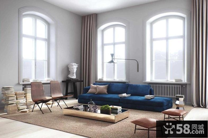现代装修卧室墙纸