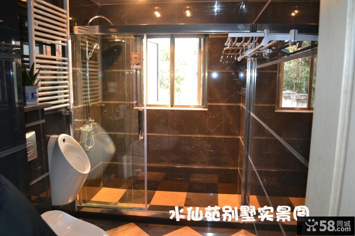卫生间淋浴室隔断效果图欣赏