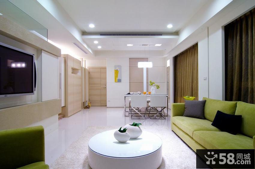简约一居室室内设计图片