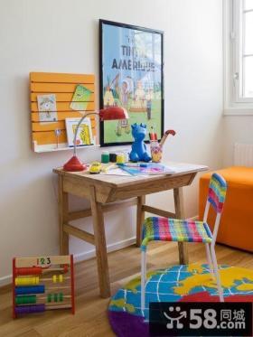 小户型创意小朋友书房装修效果图大全