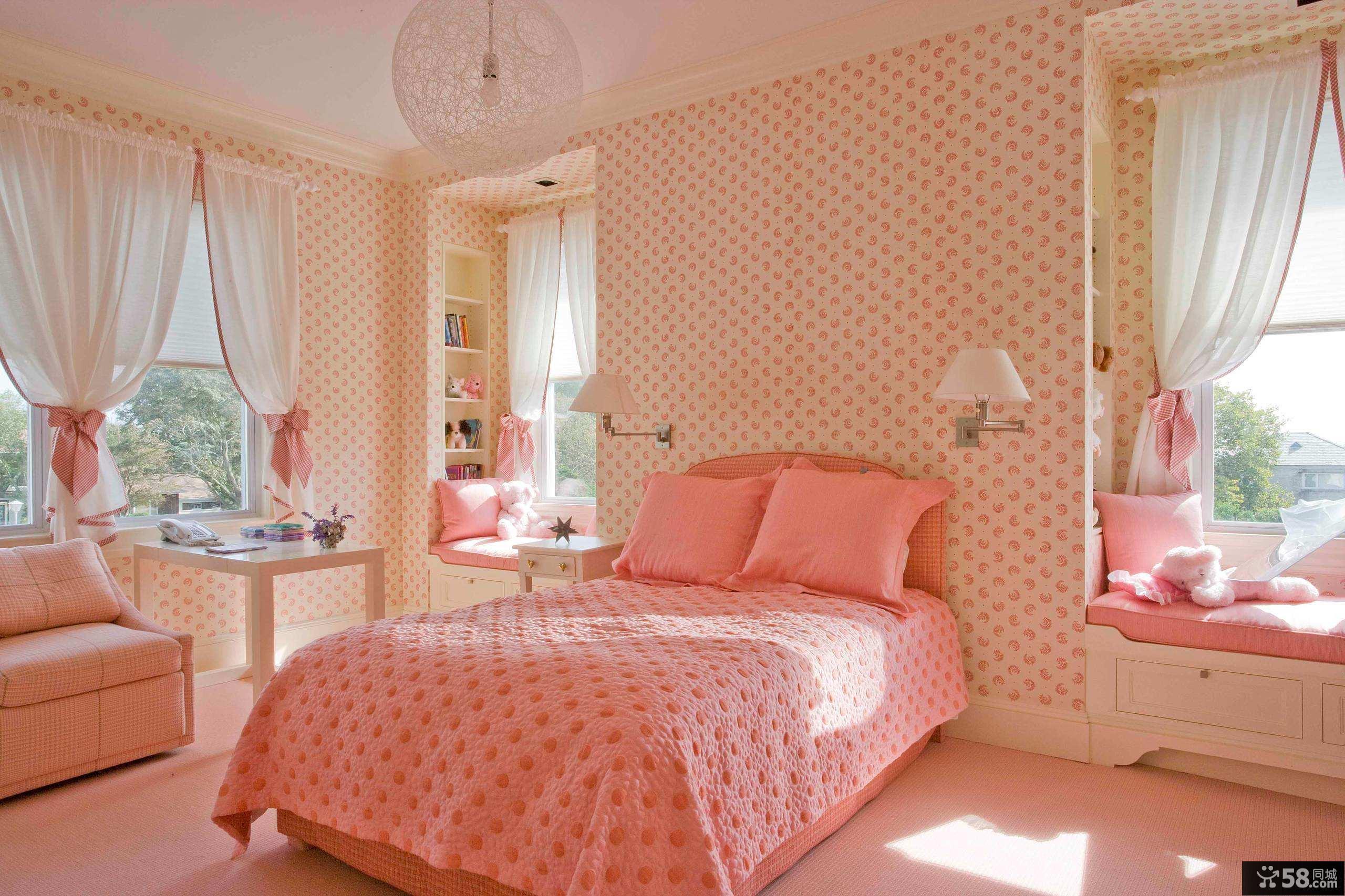 卧室实木衣柜效果图
