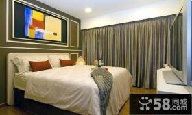 卧室窗帘装修效果图片