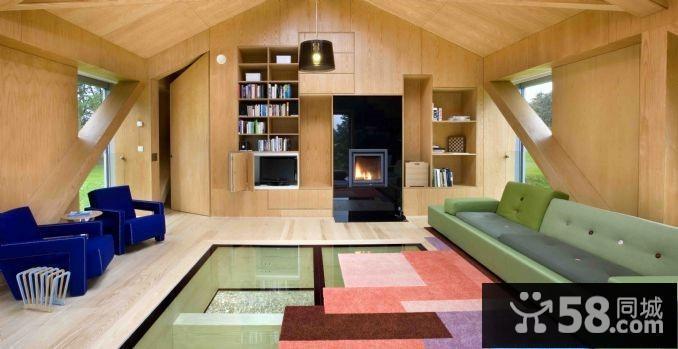 小型客厅吊顶