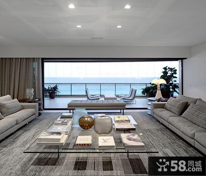 现代简约风格装修图片客厅