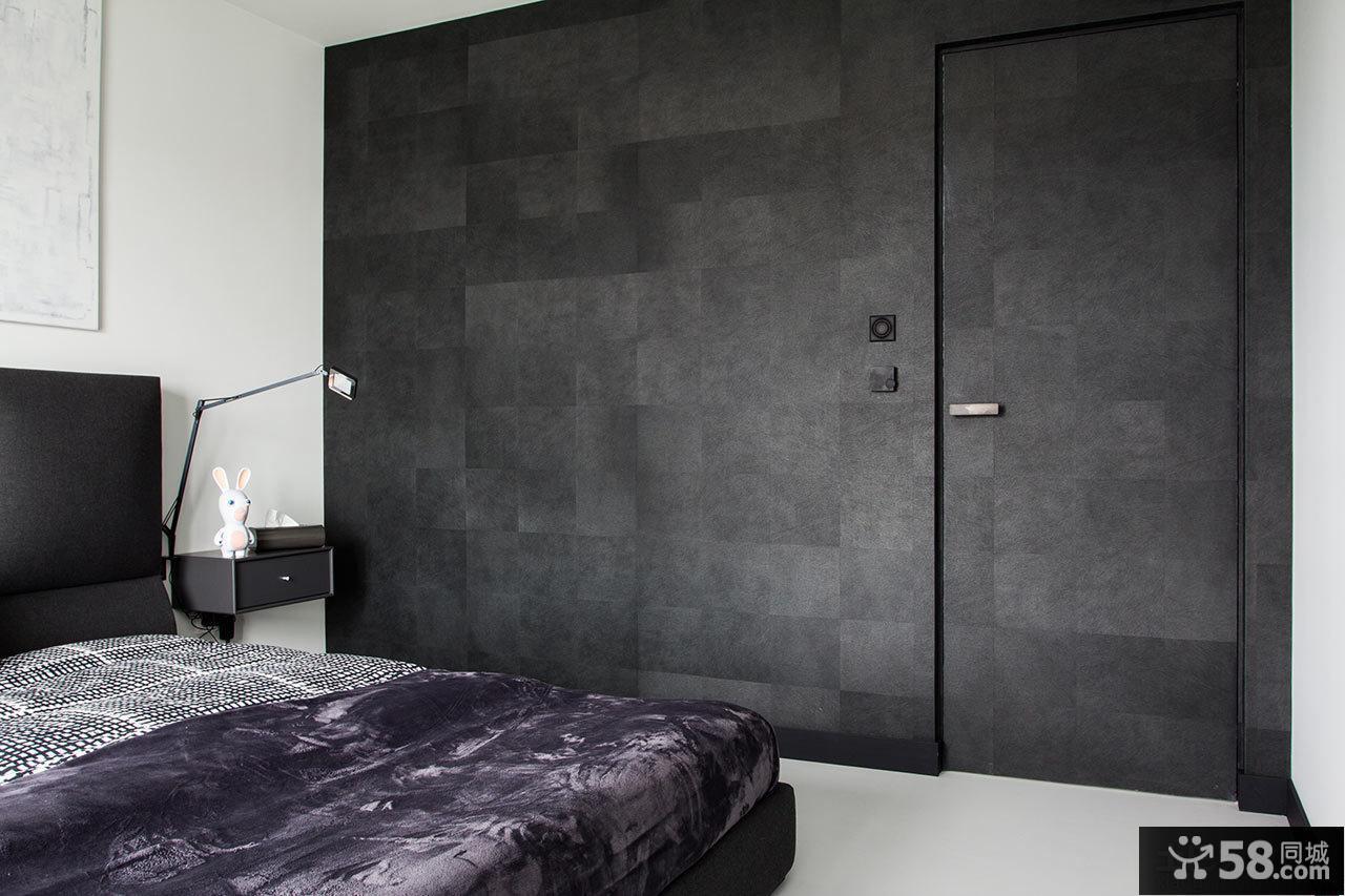 现代简约卧室装修家具