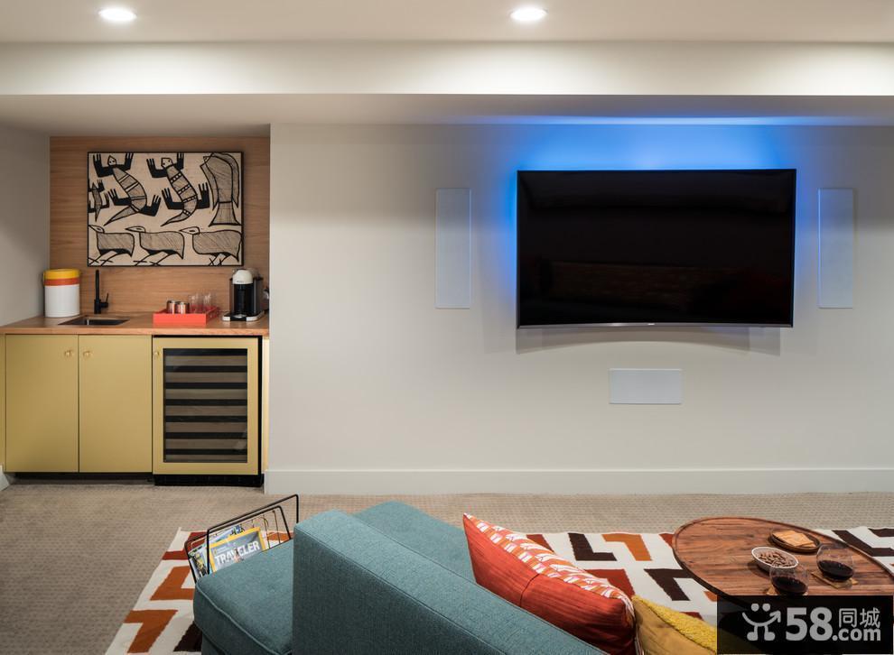 壁纸客厅电视背景墙效果图