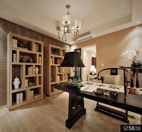 中式风格书房设计效果图片欣赏