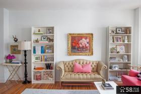 白领公寓客厅装修效果图欣赏