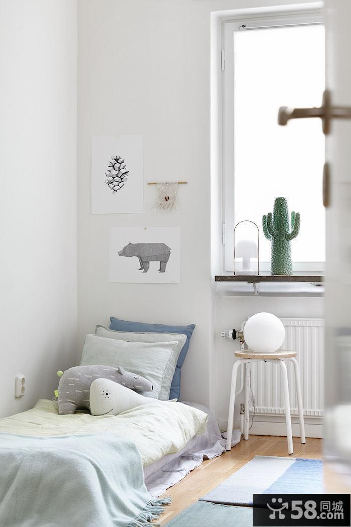 卧室立体墙纸