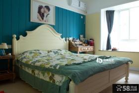 地中海卧室飘窗效果图图片