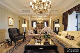 古典设计三室两厅效果图欣赏大全