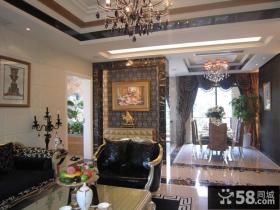 欧式新古典风格室内装潢设计