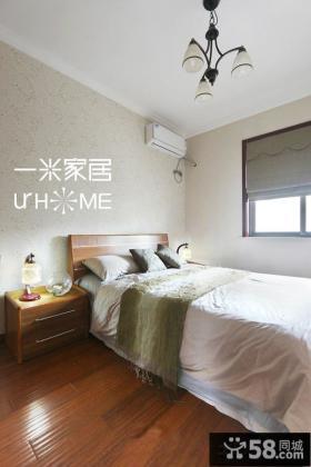 简装美式家庭卧室装修效果图片