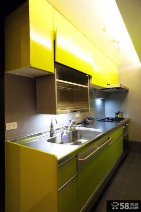 现代风格成熟装修厨房设计