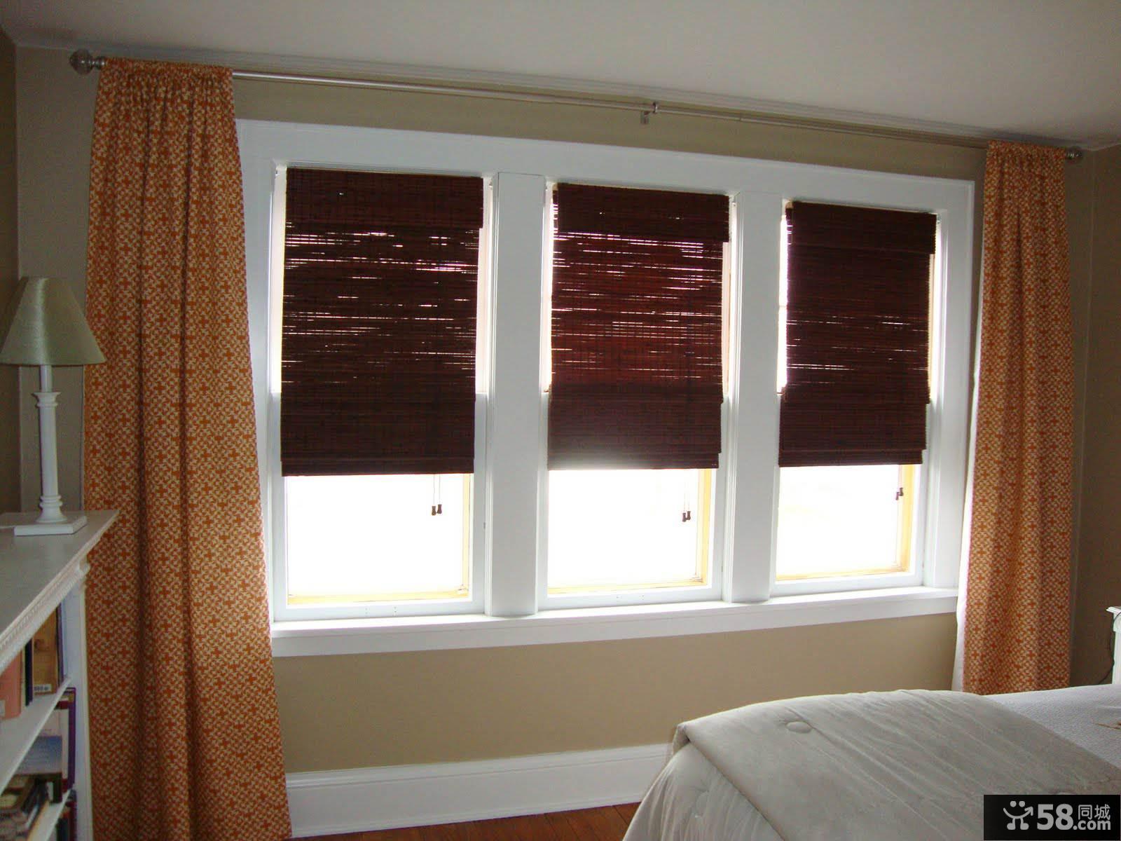 设计室内卧室窗帘欣赏
