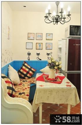 餐厅沙发图片