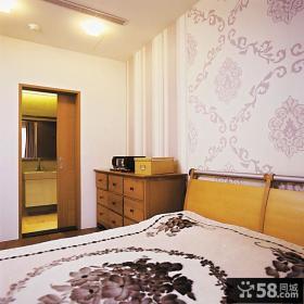 日式风格主卧室装修效果图大全欣赏