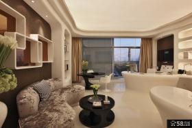 现代风格客厅沙发茶几设计效果图
