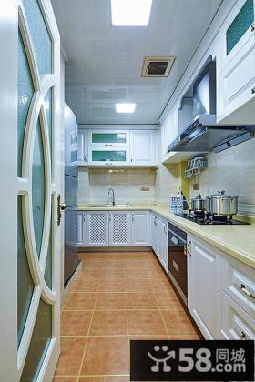 简欧风格厨房装潢效果图