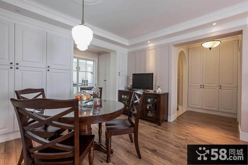 典雅美式三居室装修案例