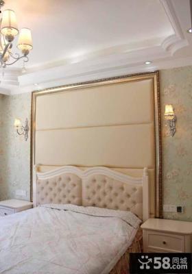 简欧式主卧室装修效果图