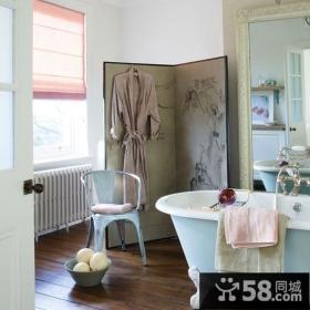 50小户型北欧清新的客厅装修效果图大全2014图片