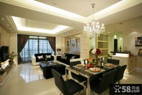 最新现代风格三居室内设计图片