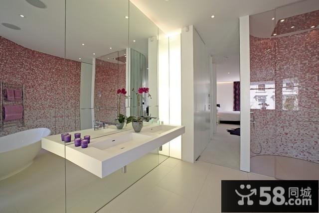 现代简约客厅背景墙图