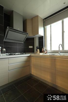 现代厨房装修效果图2013