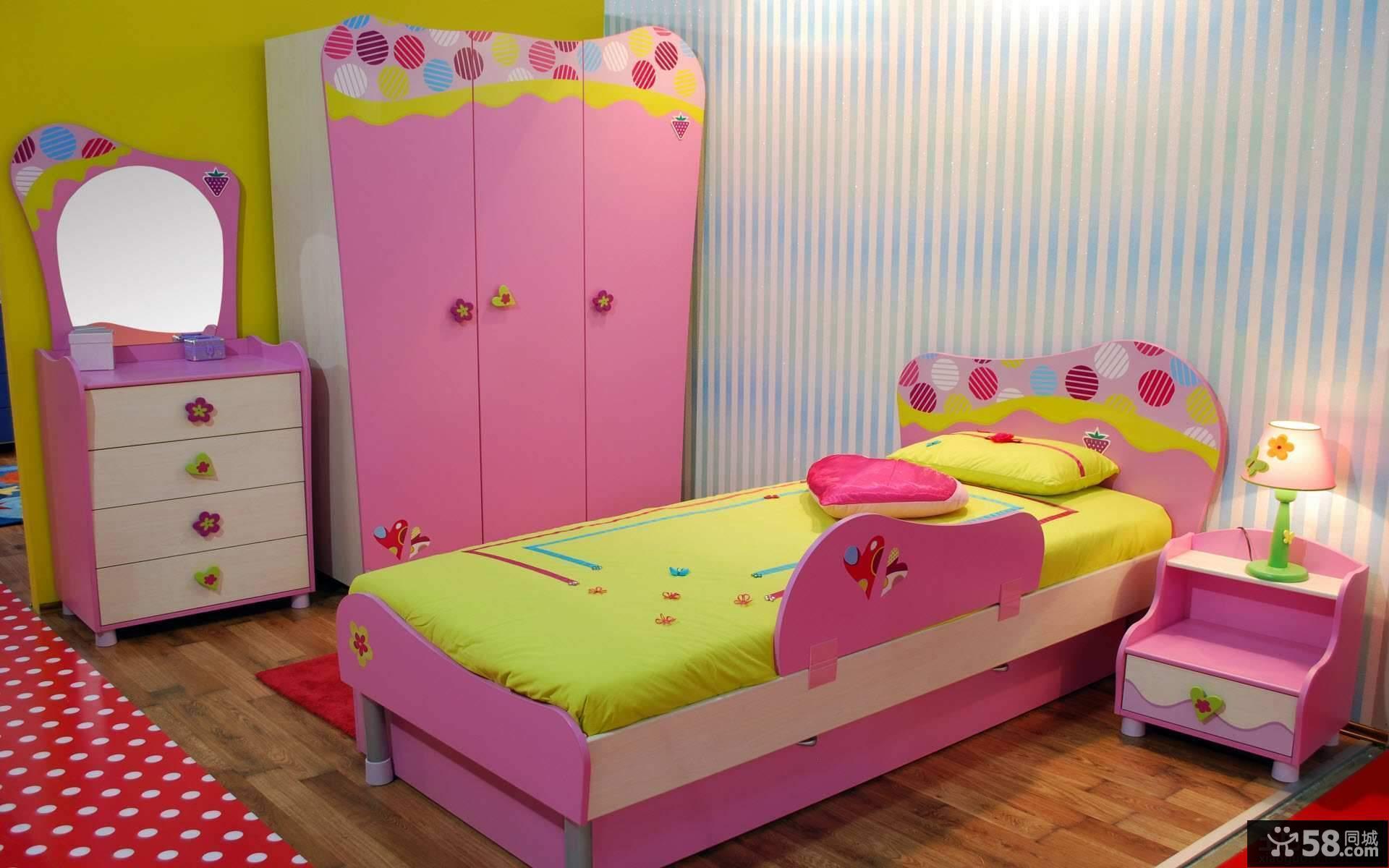 儿童房色彩设计效果图