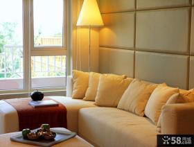 清新婉约的现代风格卧室装修效果图大全2014图片