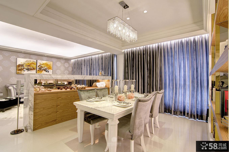 欧式家居餐厅效果图片欣赏