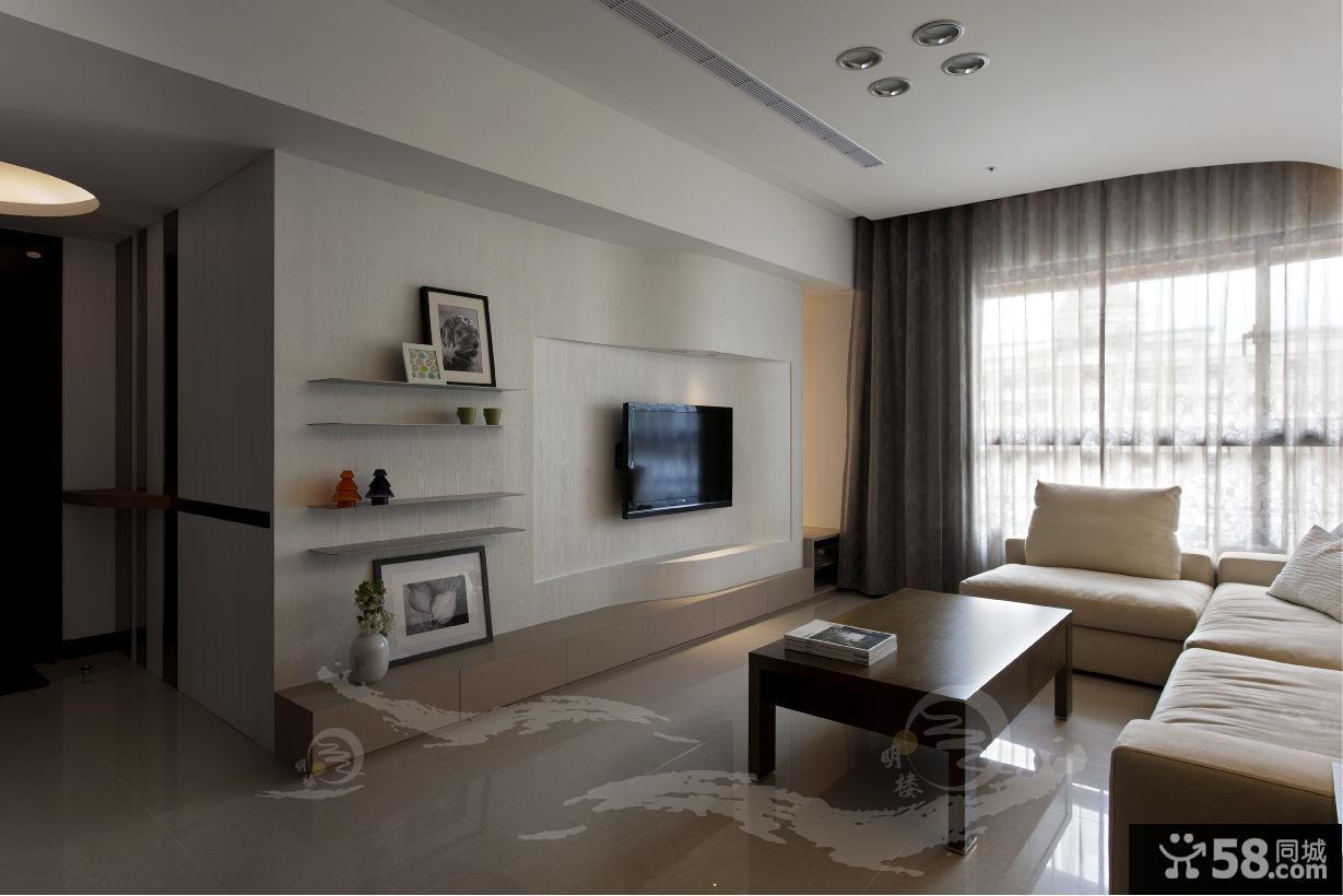 简约现代日式风格二居室设计