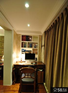 现代欧式书房装修效果图片大全