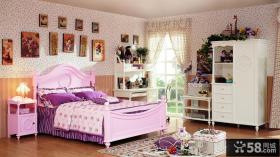 简约婴儿房婴儿床图片
