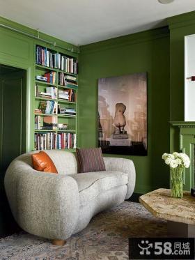 书房沙发装修效果图欣赏