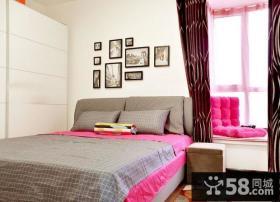 70小户型装修效果图婚房卧室装修效果图