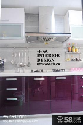 现代简约风格厨房橱柜效果图