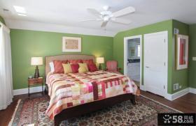 混搭风格三室两厅豪华卧室装修效果图