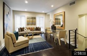 二室一厅简装效果图 客厅装修效果图大全2012图片
