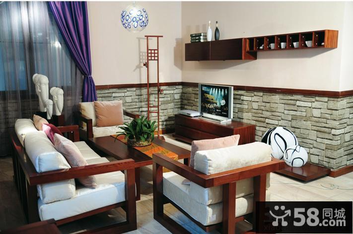 现代电视背景墙设计图