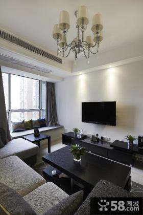 最新简约风格客厅装修设计图大全
