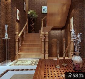 进门玄关楼梯装修效果图