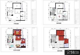 独栋别墅户型平面图